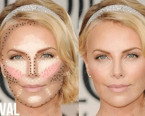 hogyan lehet sminkkel elrejteni a vörös foltokat az arcon
