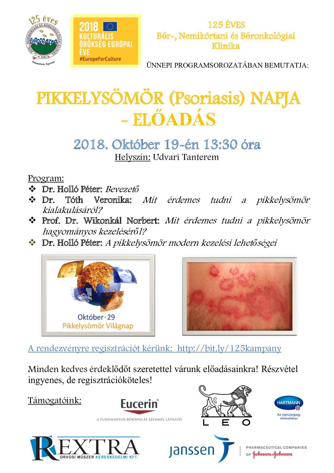 Szegedi Tudományegyetem | Indul a pikkelysömörrel élőket támogató, Átváltozás nevű program Szegeden